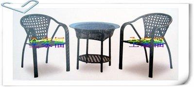 大高雄最便宜~全家福二手貨~ 全新 休閒藤椅/餐椅/造型椅/洽談桌椅/房間桌椅 大特價~