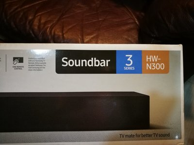 三星 Samsung HW-N300 2-Channel TV Mate Soundbar,