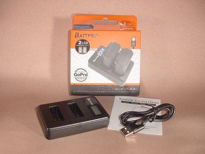 AHDBT-501 USB雙位充電器合GoPro HERO 7機請看內容(香港行貨由BATTPRO免費一年保用)