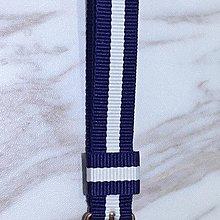 【金永珍珠寶鐘錶*】瑞典Daniel Wellington DW錶帶 帆布帶 34mm 原廠錶帶*