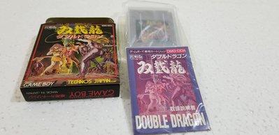 任天堂Gameboy Technos 雙截龍 中古美品 1990 made in japan