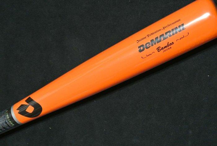 貳拾肆棒球-- 日本帶回搶先販售限定色Wilson DEMARINI 球棒BAMBOO