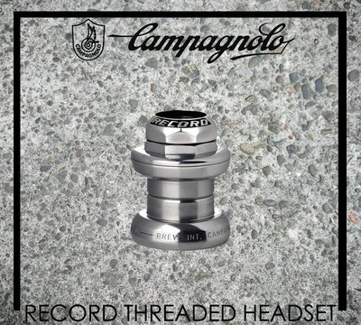 [Spun Shop] Campagnolo Record Threaded Headset 有牙式頭碗組