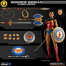 Mezco One:12 Collective NYCC Exclusive 限定 Wonder Woman - Classic Edition 神奇女俠
