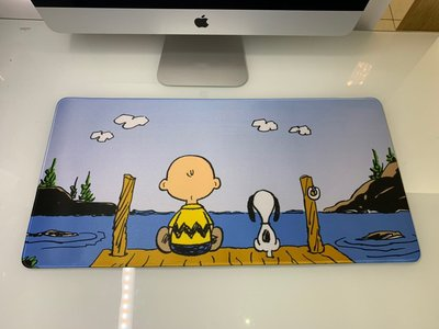 現貨 ❤️ 實拍 優質 史努比 snoopy 查理布朗 滑鼠墊  滑鼠墊  桌墊 辦公桌墊 迪士尼 誘惑