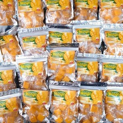 泰國霜降 芒果果肉軟糖 霜降軟糖 100g