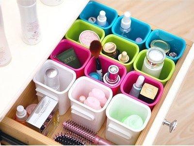 Lovus 組合式收納盒瀝水架桌面小物收納(不挑色)單個
