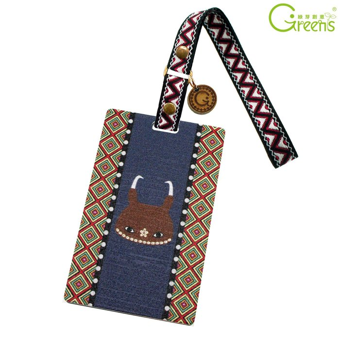 《Greens Design》布農族-台灣原住民票卡套系列 壓克力 證件套 (PA0012)
