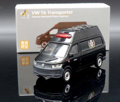 【M.A.S.H】[現貨特價] TINY 會員限定 VW T6 Transporter 特種警備車