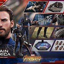 全新圓貼未開 Hottoys 會場版 (MMS481) 美國隊長Captain America  無限之戰 (歡迎提問)