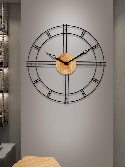 時鐘 掛鐘 掛鐘客廳北歐現代簡約掛表個性創意時尚石英時鐘家用輕奢歐式鐘表