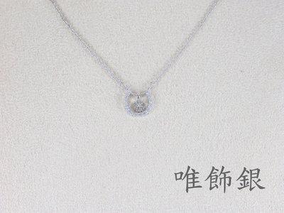 《LIZHA-唯飾銀》 擬真鑽鑽石女項鍊墬子,925銀八心八箭媲美鑽石璀璨火光。幸運雪花