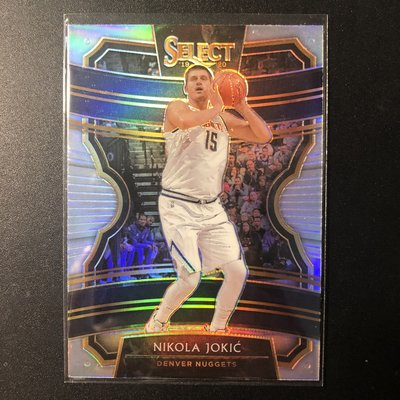 《KC》2019-20 Select Nikola Jokic 銀亮金屬卡 金塊 小丑 MVP