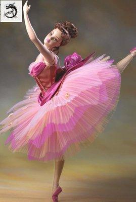 九州動漫芭比 prima ballerina Classic Grace Barbie 芭蕾舞 陶瓷 現貨