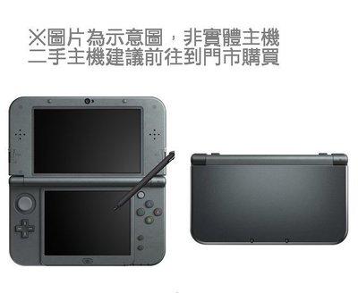 【二手主機】任天堂 New 3DSLL New3DSLL 主機 金屬黑色 日規機 日文介面 11.2版本【台中恐龍電玩】