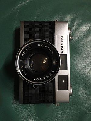 代售 konica 古董單眼相機 auto s1.6  外觀保存良好