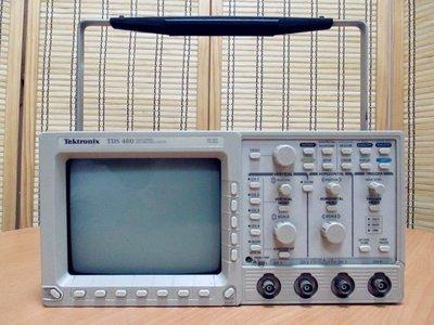 康榮科技二手儀器Tektronix TDS460 350MHz 4CH Digital Real-Time SCOPE