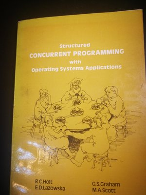 Structured Concurrent  Programming with operating systems application 儒林書局翻版書