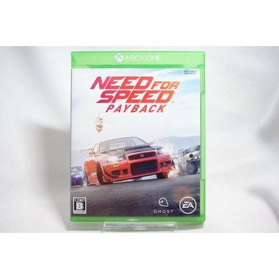[耀西]二手 純日版 XBOX ONE 極速快感:血債血償 Need for Speed Payback 含稅附發票