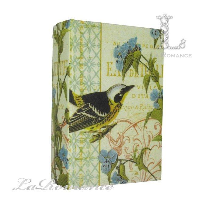 【芮洛蔓 La Romance】 歐式鳥語花香造型書盒 A / 置物、收納盒