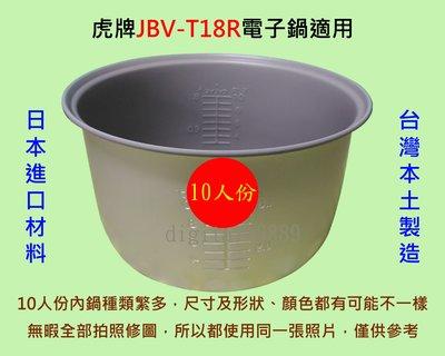 虎牌 JBV-T18R 電子鍋 適用內鍋