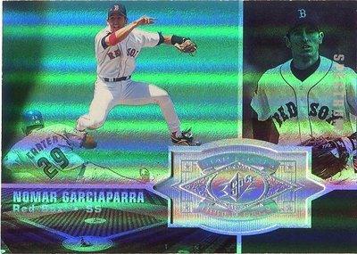 (T)紅襪明星游擊手 Nomar Garciaparra 1998 SPx Spectrum 限量1750