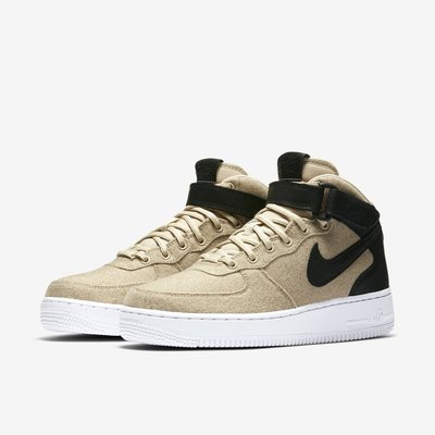 =CodE= NIKE W AIR FORCE 1 MID LEATHER PREM 籃球鞋(卡其)857666-001