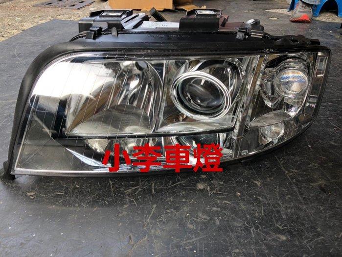 ~李A車燈~全新品 外銷精品件 奧迪 A6 02 03 04年 原廠型晶鑽大燈(無HID板) 一顆2600元2