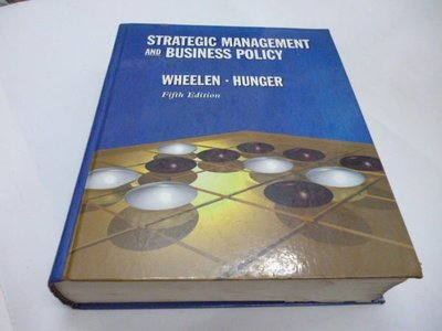 《Strategic Management and Business Policy》ISBN:0201563886│Addison-Wesley│Thomas