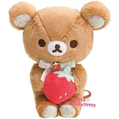 ☆Mika☆ 日本正版 RILAKKUMA 懶懶熊 拉拉熊 娃娃 玩偶 700含運~
