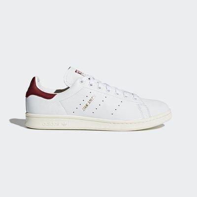 adidas stan smith CQ2195 紅色 奶油 皮革 復古 運動鞋