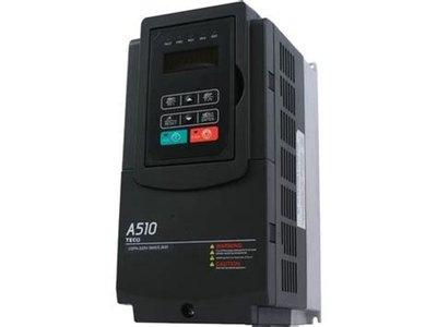 ╭☆優質五金☆╮東元變頻器 A510 三相220V 3HP~可當變相機使用~單相220V變三相220V