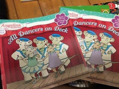 全新英文童書芭蕾小精靈 ANGELINA ballet all dancers on deck new979
