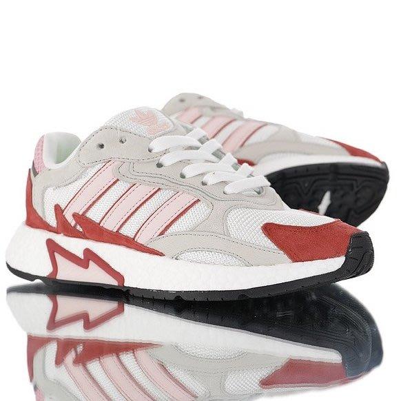 Washoes adidas Originals TRESC RUN W 白灰紅 EF1067 楊冪 慢跑鞋 女鞋05