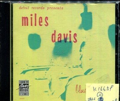 *真音樂* MILES DAVIS / BLUE MOODS 二手 K16659 (封面底破)