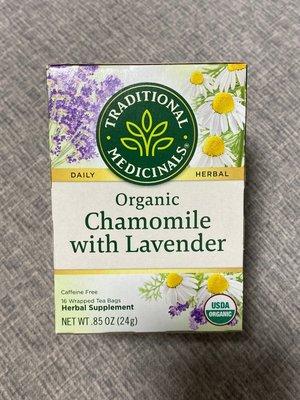 [Aphrodite]Traditional Medicinals 洋甘菊&薰衣草混和茶 (16包/盒) 無咖啡因