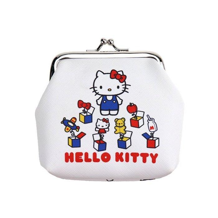 X射線【C606360】Hello Kitty 45週年零錢包,長錢包/錢包袋/短夾/長夾/中夾/零錢包/皮夾