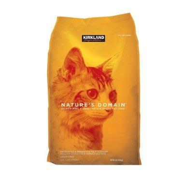 【代購屋】Costco 好市多 代購 KIRKLAND 美國進口貓乾糧/貓飼料-鮭魚.甘藷口味配方 (每包8.16kg)
