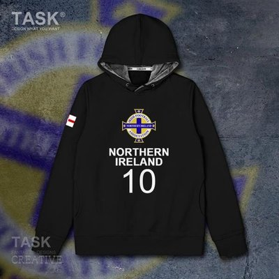 TASK 北愛爾蘭Northern Ireland連帽衛衣寬松加絨外套