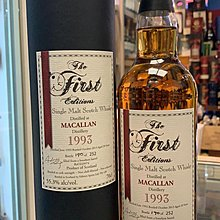 1993 The First Editions Macallan 20 Year Old