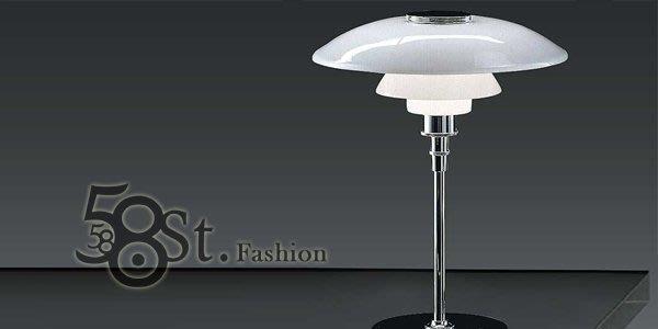 【58街】義大利設計師款式「PH 3/4台燈」檯燈。複刻版。GL-061