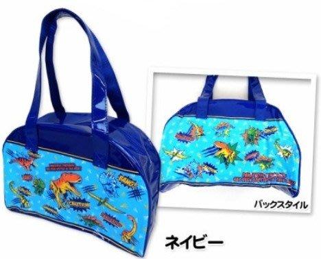 ☆╮Darling Baby ☆ 日本防水游泳袋/防水波士頓包-恐龍