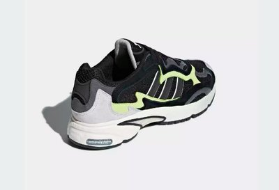 (A.B.E)ADIDAS 愛迪達 TEMPER RUN F97209 F97208 復古老爹潮鞋 黑 紫 兩色 男女潮鞋