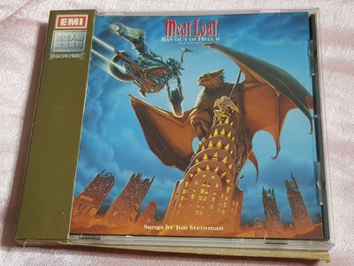 R西洋團(二手CD)Meat Loaf~Bat Out of Hell II~back into~風雲人物系列盒版(西)