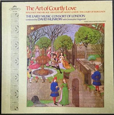 {夏荷美學生活小舖} 西洋黑膠 EMI SLS-863 3LP The Art of Courtly Love