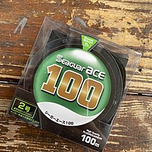 【聯合釣具-竹南店】日本 SEAGUAR ACE 王牌 100m 碳纖線 1.7號