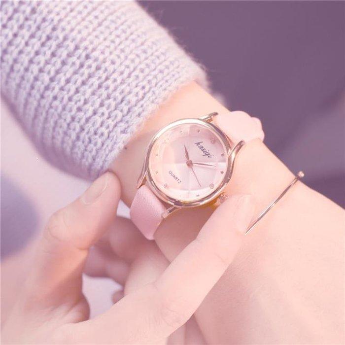 趙麗潁同款手錶女學生韓版簡約潮流ulzzang休閒大氣復古文藝清新
