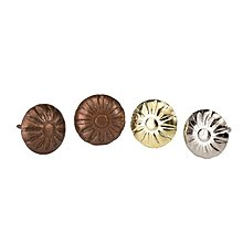 奇奇店-泡釘仿古裝飾菊花泡釘沙發釘圖釘銅釘鼓釘菱形大頭釘圓頭裝飾泡釘