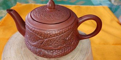 【~Y.W.Y~收藏品】~飲茶人早期收藏~紅泥(台灣老茶壺壺)~歡迎行家鑑賞實品~Y81