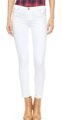 ◎美國代買◎AG the legging in white 優雅的白色合身款~